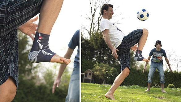 Levamed® ankle supports football