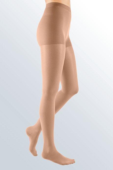mediven elegance compression stockings panty caramel