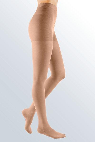 mediven comfort compression panty caramel