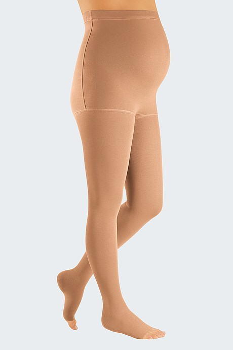 mediven 550 leg flat knitted compression stockings from medi for pregnancy