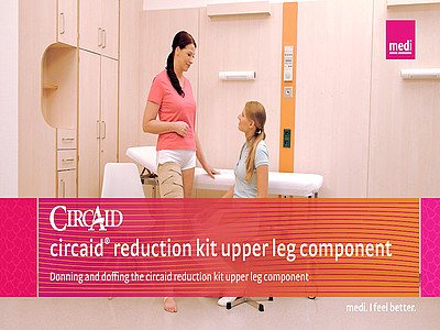 Donning and Doffing the circaid reduction kit upper leg component