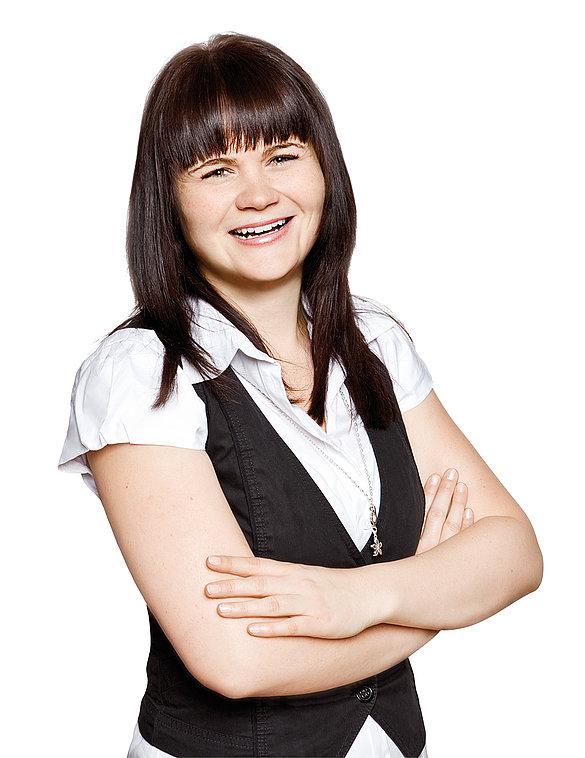 Produkt- och marknadschef Lymfologi Stefanie Philbert