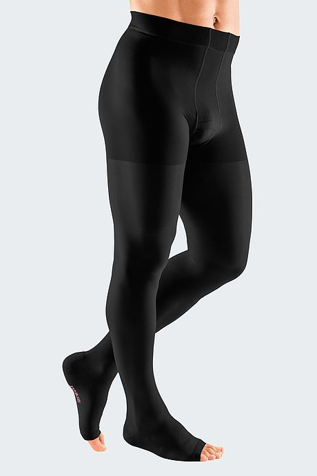 mediven plus compression stockings black men´s leotard